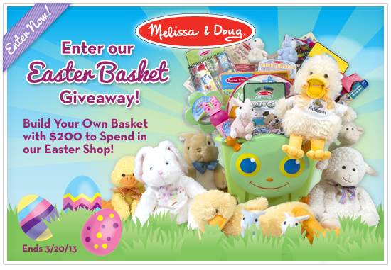 Melissa & Doug Easter Shop