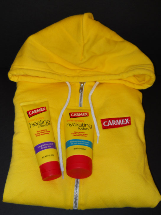 carmex healing lotion and healing cream