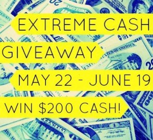 May Extreme Cash Giveawy